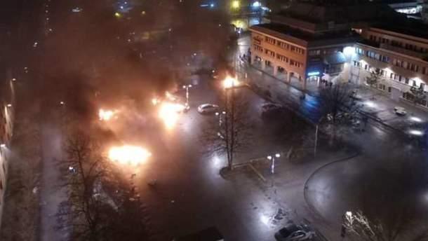 Заворушення у Стокгольмі