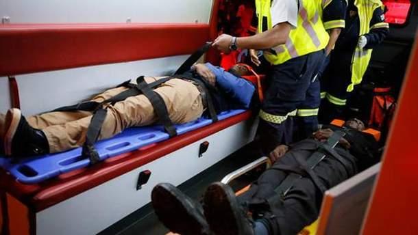 Жертвы железнодорожной аварии в ЮАР