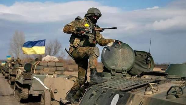 Боевики ранили бойцов АТО