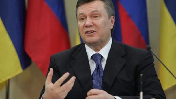 Віктор Янукович планував осісти з військами на Донбасі