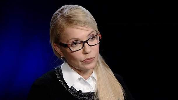 Тимошенко не вірить заяві Савченко