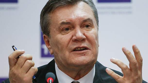 Янукович напише листа Трампу