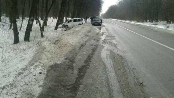Авария произошла недалеко от границы с Польшей