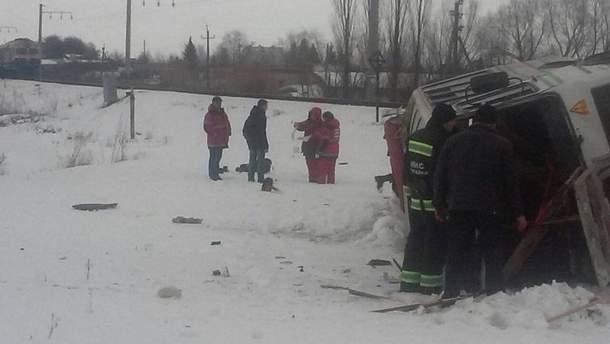 Авария в Винницкой области