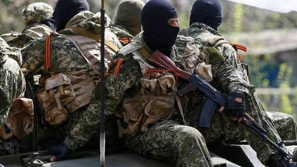 Боевики в Донбассе
