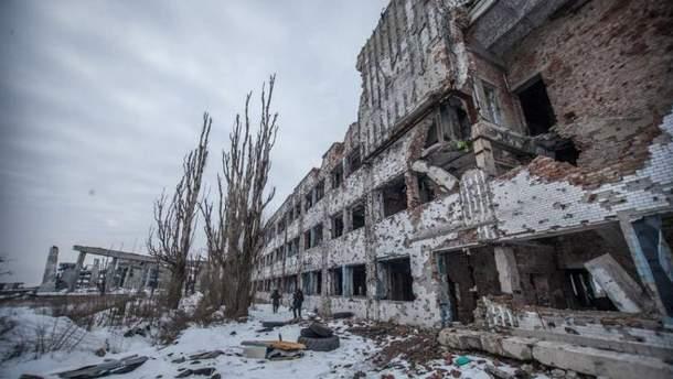 Как сейчас выглядят руины Донецкого аэропорта