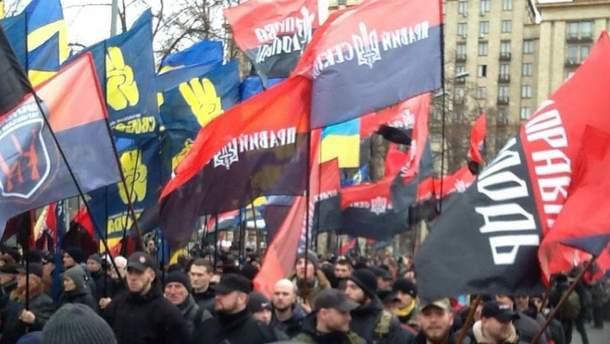 Марш правих сил починається в Києві