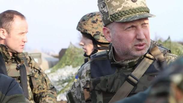 Секретарь Совета национальной безопасности и обороны Украины Александр Турчинов