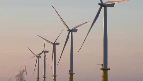 Вітряна електростанція Amrumbank West у Північному морі