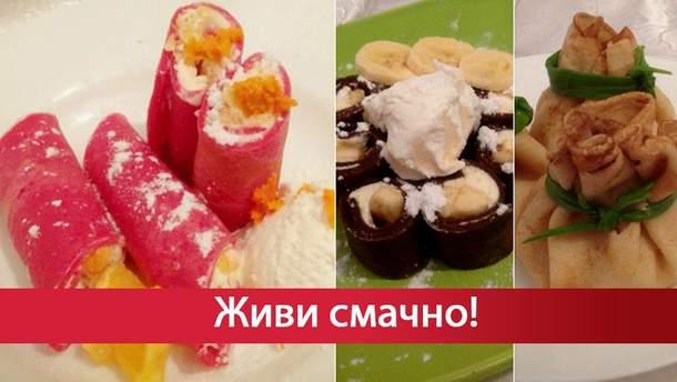 Млинці на Масляну: рецепти з фото