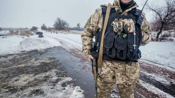 Військовий в зоні АТО
