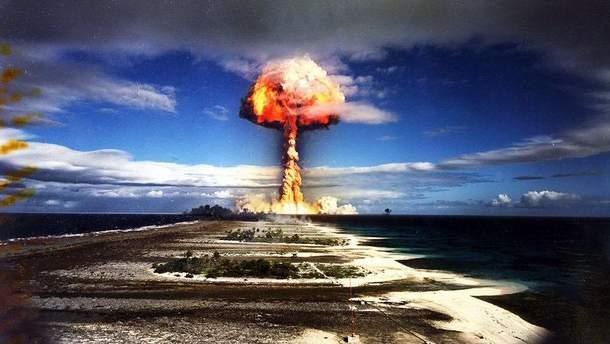 Применение оружия массового поражения