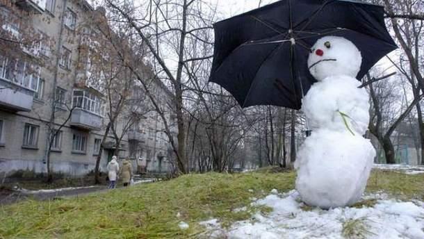 Потепління в Україні