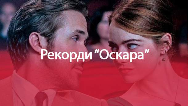"""Рекордсмени """"Оскара"""": """"Ла-ла Ленд"""" пліч-о-пліч з """"Титаніком"""" та історією про Єву"""