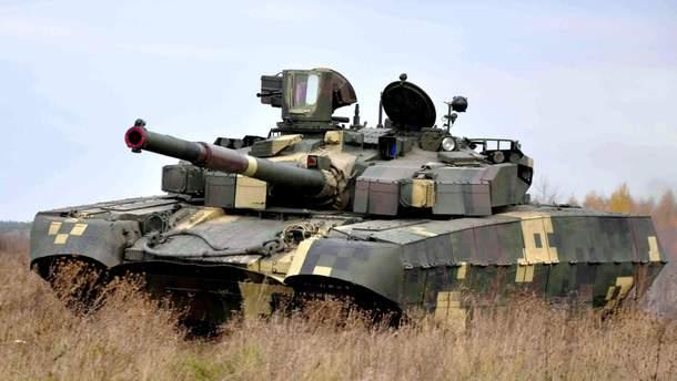 """Украинский танк """"Оплот"""""""