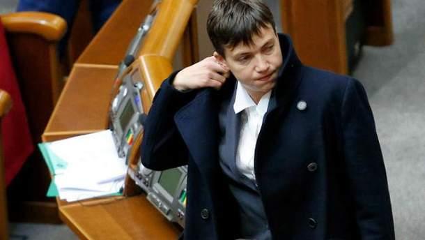 СБУ проведут разговор с Надеждой Савченко