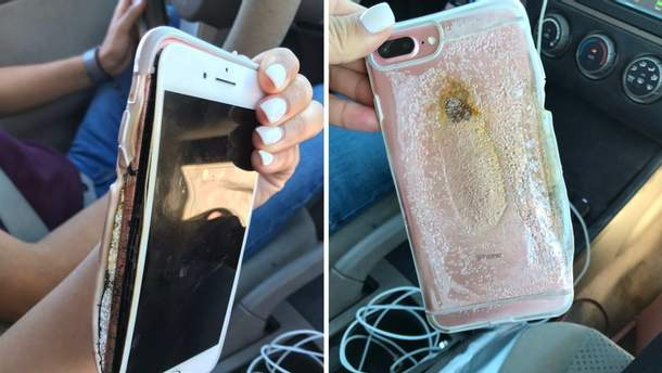 В США взорвался iPhone 7