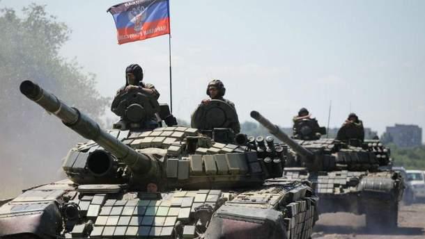 Террористы ранили 2 украинских бойцов