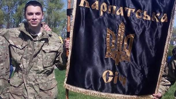 Роман Напрягло погиб сегодня от пули снайпера