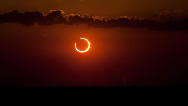 Сонячне затемнення відбулося на минулих вихідних
