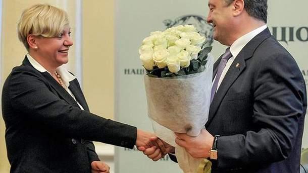 Порошенко может сохранить свою власть, отправив Гонтареву в отставку