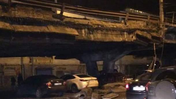 Наслідки обвалення Шулявського мосту