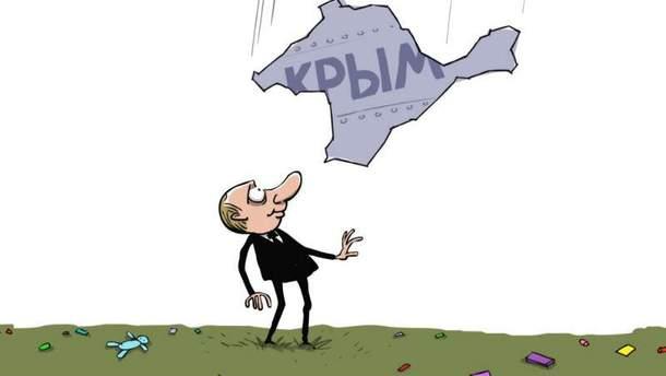 Аннексия Крыма (Карикатура)