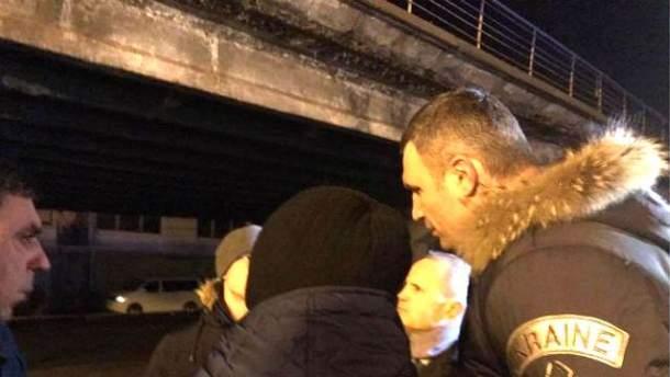 Кличко нашел виновных в обвале Шулявского моста