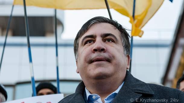 Михеил Саакашвили зарегистрировал свою партию