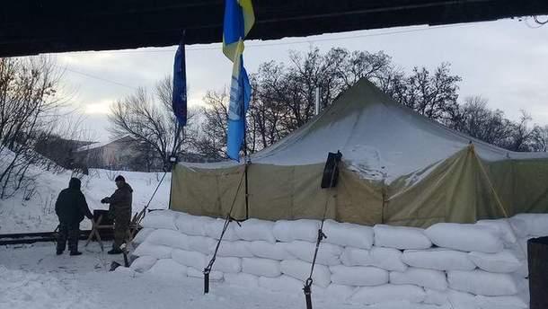 Железнодорожная блокада на Донбассе