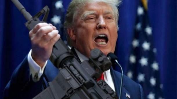 Трамп хочет помериться оружием с Россией