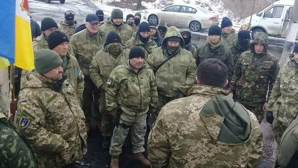 Блокадники на Донбассе