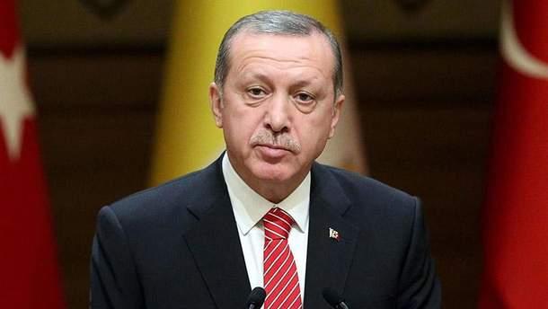 Турецький президент Реджеп Ердоган