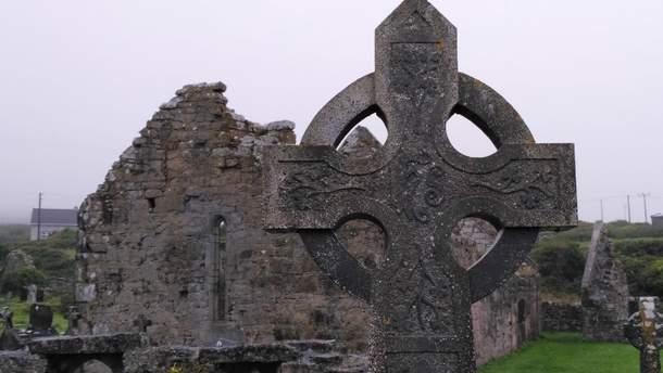 Могила в Ирландии