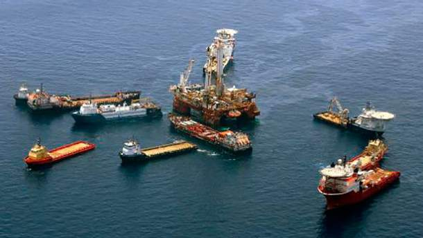 Добыча нефти на шельфе Черного моря