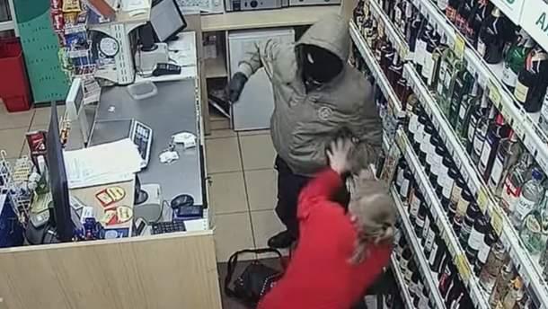 Нападение на продавщицу в Тернополе