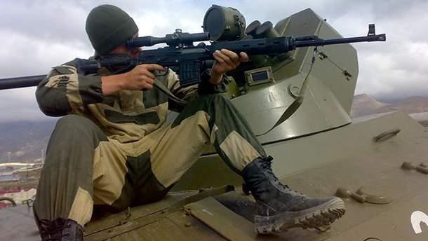 Російського снайпера ліквідували українські бійці на Донбасі