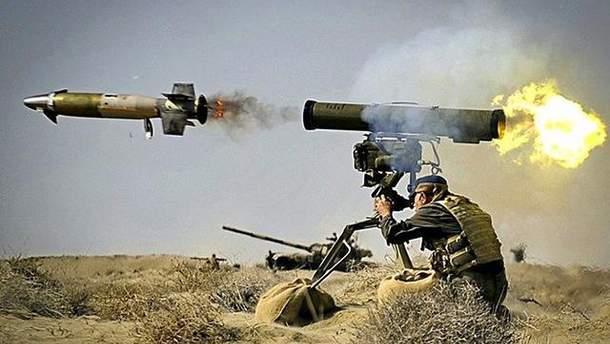 Випробування протитанкових ракет було успішним