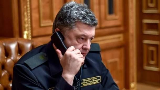Порошенко двічі телефонував до Путіна