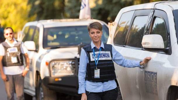 Представник моніторингової місії ОБСЄ Ольга Скриповська