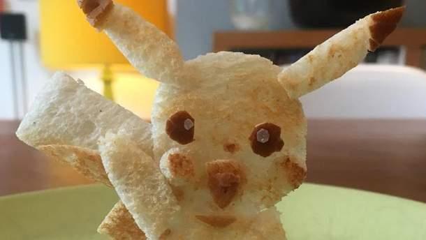 Пікачу з тостів