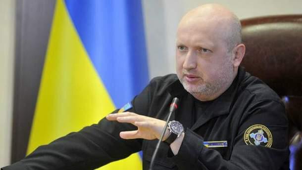 Турчинов оголосив рішення РНБО