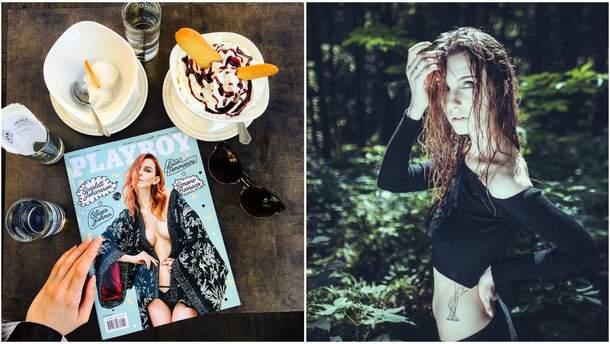 Украинка на обложке Playboy