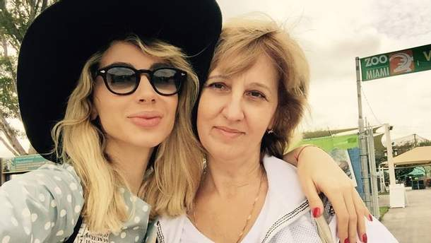 Светлана Лобода и ее мама Наталья Лобода