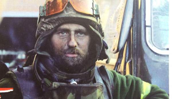 Укранський військовий Андрій Нагірний