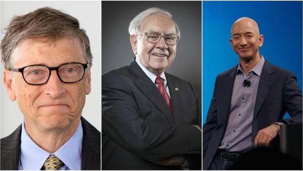 Рейтинг Forbes очолив Біл Гейтс