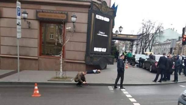На місці стрілянини у Києві працює слідчо-оперативна група