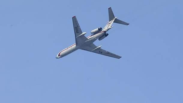 Пилот Ту-154 сразу после взлета будто попал в черную дыру