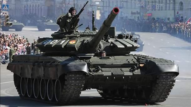 Танк Т-72Б3 2015-го года