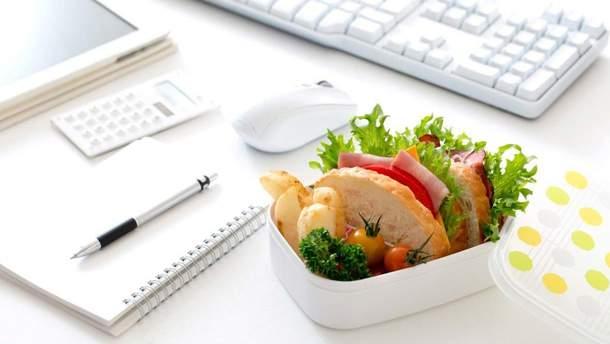 Еда на работе